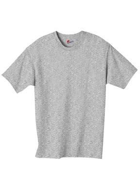 Hanes 6 oz. Tagless T-Shirt, Oxford Gray