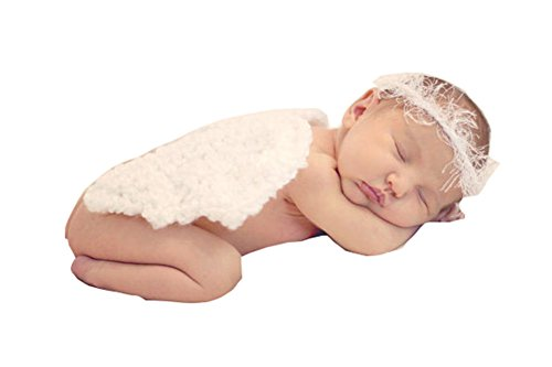 CX-Queen Baby Photography Props Costume Angel wings Halo