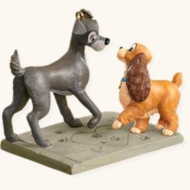 Sign's of Affection Disney's Lady and the Tramp 2008 Hallmark Keepsake ornamnet QXD6244 by Unknown