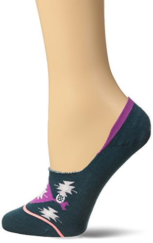 Stance Women's Desert Dreamer Super Invisible Sock, Teal, Medium (Invisible Sock Liner compare prices)