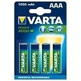 Varta Power Accu NiMH Akku AAA Micro 1000 mAh 4er Pack