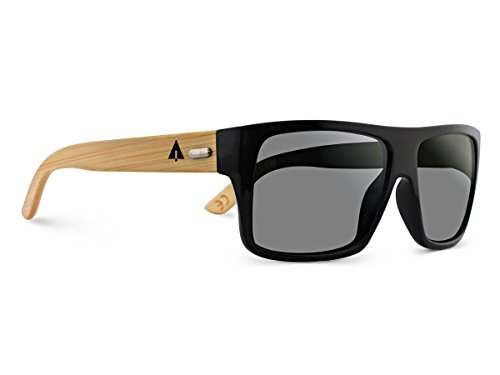 TREEHUT-Wooden-Bamboo-Sunglasses-Temples-Classic-Aviator-Retro-Square-Wood-Sunglasses