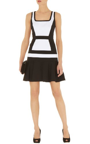 Stripey Color Block Dress