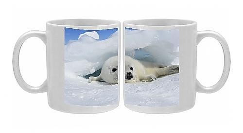 Photo Mug Of Harp Seal - Baby front-1057768