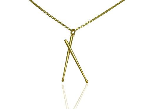 aus-massivem-9-ct-Gold-Drum-Sticks-Anhnger-und-Halskette-Geschenk-Set-fr-Schlagzeuger-Musiker-und-Musikliebhaber-Kette-Optionen-unter-FARBE-Name