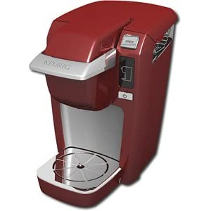 Click to buy Cool Kitchen Gadget: Keurig Mini Brewer - Red from Amazon!