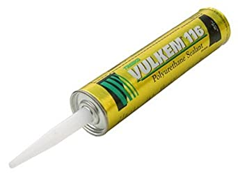 Gray Tremco Vulkem 116 Polyurethane Sealant 10.1 Oz Caulk Tube