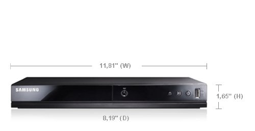 Purchase Samsung All Multi Region Code Zone Free PAL/NTSC DVD Player with USB