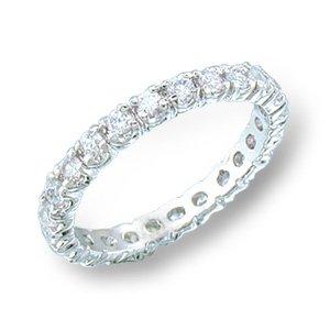 Stunning Eternity Band Anniversary Ring size 8