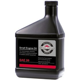 Briggs & Stratton 100005 SAE 30W Engine Oil - 18 Oz