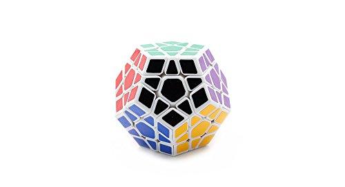 Dayan Dodecahedron Megaminx Puzzle Magic Cube-White - (Premium Quality)