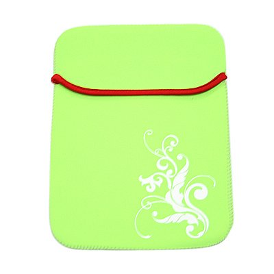 Lime Green Apple iPad Sleeve