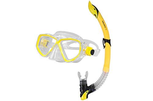 Aquatic ® *Image & Linus* - Professionelles Schnorchelset bestehend aus Schnorchel mit Tauchermaske
