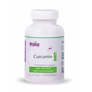 Zenith Nutrition Curcumin 475 Mg - 120 Capsules