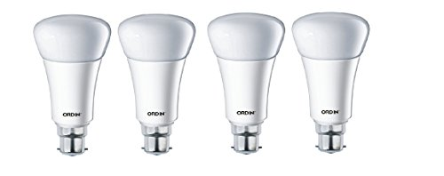 9W LED Bulb (White, Set Of 4)