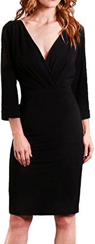 Red Hot Curves - Women's Fiona Shapewear Long Lace Modal Dress For Women