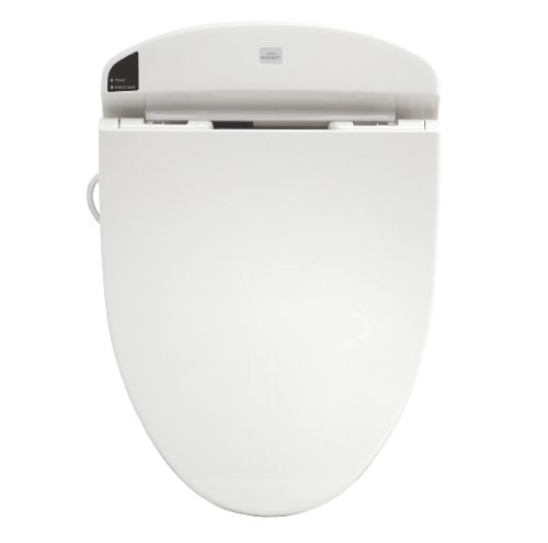Toto Sw844#01 Washlet E200 Elongated Front Toilet Seat, Cotton White front-957236