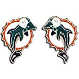 NFL Miami Dolphins Stud Earrings