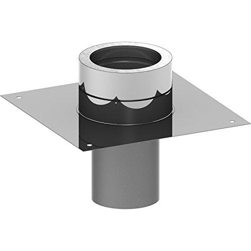 Ø 180 mm Schornstein - Grundplatte für Schornsteinverlängerung