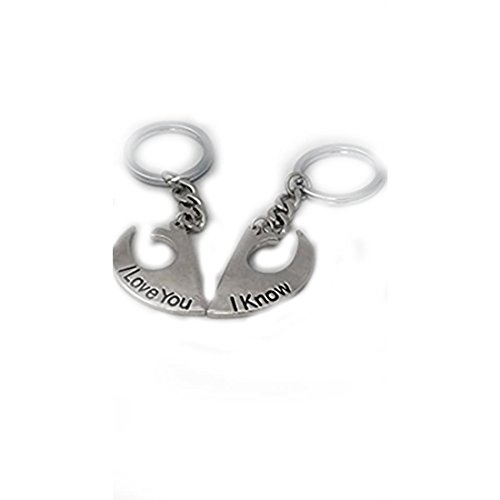 Inspired I Love You I Know Couples Key Chain