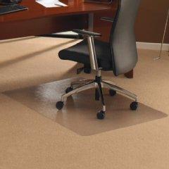 Cleartex Chair Mat Rectangular for Carpet Protection 1190x890mm Ref 118923ER