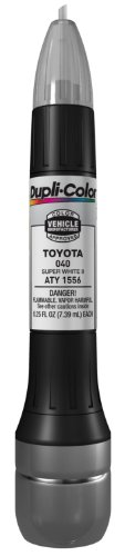 Dupli-Color ATY1556 Super White II Toyota Exact-Match Scratch Fix All-in-1 Touch-Up Paint - 0.5 oz. (Toyota Camry Paint compare prices)