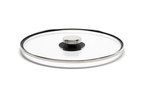 Universal Glass Quicklids Pot Lid With Cool-Touch Knob, Medium (10.5 Inches)