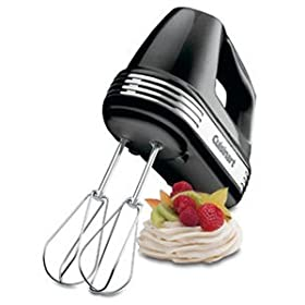 Cuisinart Hand Mixer - 7-speed - Black