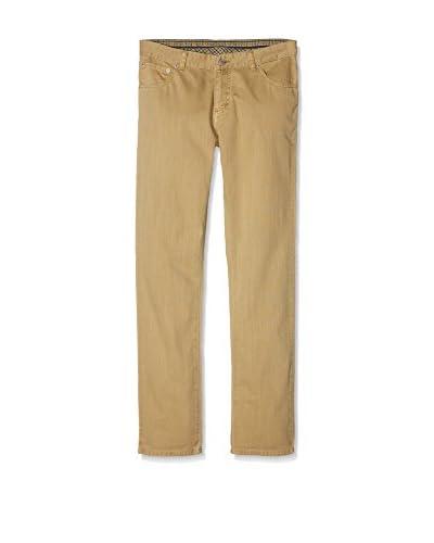 Hackett London Pantalón 5Pkt Herringbone Y Azul