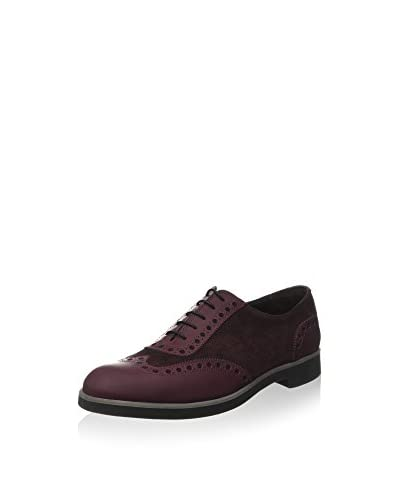 ZZ_Pollini Zapatos Oxford Burdeos