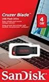 Sandisk SDCZ50-004G-B35 - SANDISK CRUZER BLADE 4GB BLACK USB CRUZER BLADE