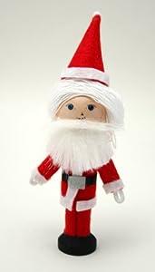 Santa Claus Clothespin Doll Craft Kit