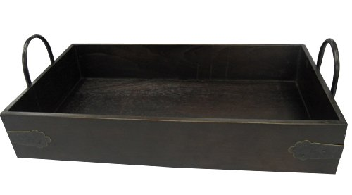Wald Imports 17-Inch Wood Serving Tray