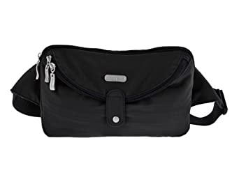Baggallini Luggage Hip Pack, Black, One Size