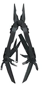 Gerber 22-41545 Black Diesel Multi-Plier with Sheath by