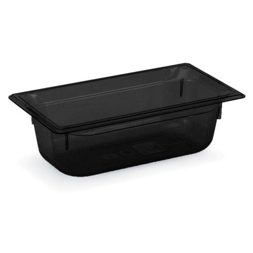 Vollrath Super Pan 3 Black 1/3 Size High Temp. 5.3 Qt. Pan