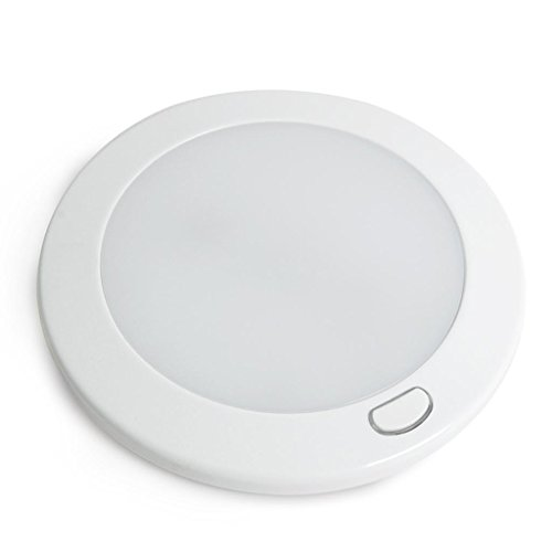 """Dream Lighting Led Panel Light 5"""" Warm White With Switch"""
