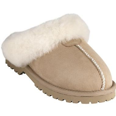 Cheap Cabela's Women's Dove Creek Shearling Scuffs (046CB-1-8M)