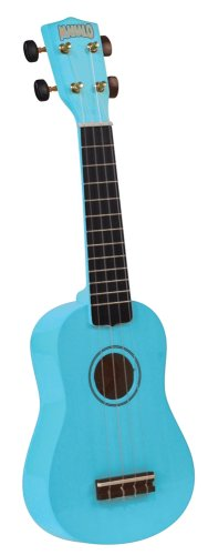 Mahalo U-30LB Painted Economy Soprano Ukulele (Light Blue)