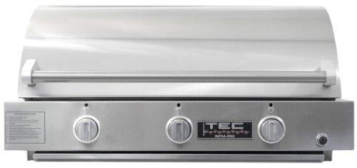 Tec Sterling G3000Fr 3Burner Infrared Builtin Grill
