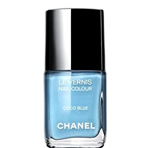 Chanel: Le Vernis De Chanel Blue Nail Polish; Coco Blue