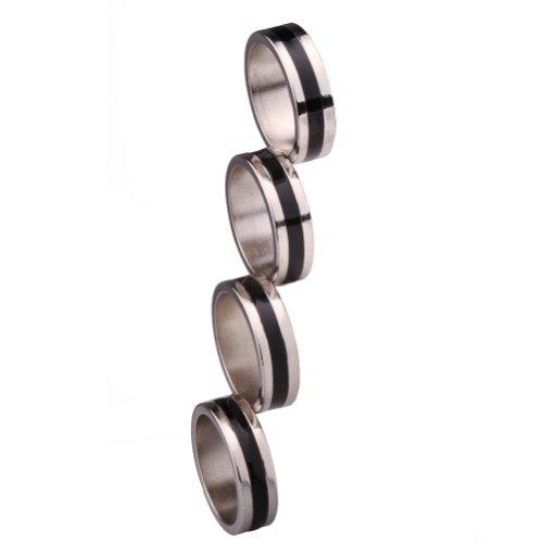 Asherangel Strong Magnetic Ring Magic Tricks Four Magic Rings (Pk Ring compare prices)