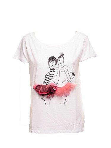 Liu Jo W66036J7756T Tshirt Donna Bianco Xs