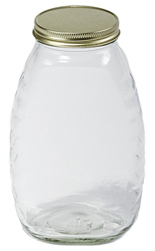 Little Giant Farm & Ag HJAR32 Glass Jar (12 Pack), 32 oz (Giant Glass Container compare prices)