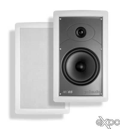 Polk Audio Mc65 High Performance In-Wall Speaker