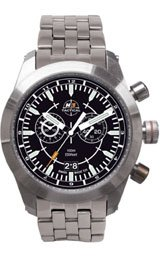 H3 TACTICAL Stealth Mission Chrono Steel Men's watch #H3.521211.12