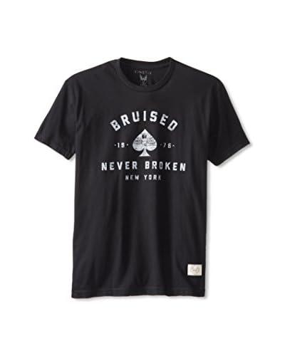 Kinetix Men's Bruised Graphic Crew Neck T-Shirt