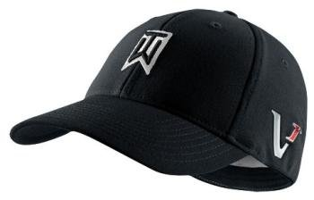 cf5f76da Nike TW Tiger Woods Tour FlexFit Golf Cap Hat 2010 Victory Red One L/XL  Black