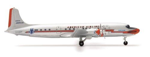 herpa-wings-american-airlines-dc-6-model-airplane-toy-japan-import