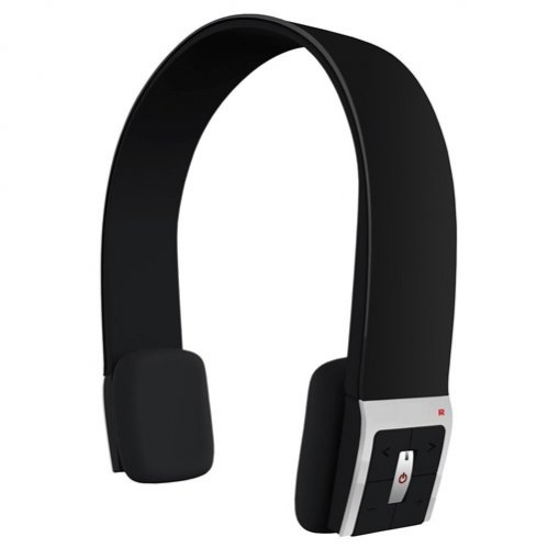 Selna Over The Head Bluetooth Wireless Stereo Headset Handsfree Headphone With Microphone For Samsung Galaxy S5, S4, S3, S2, S3 / S4 Mini - Galaxy Note 3 2 1 - Galaxy Mega - Lg G2 - Lg G Flex - Htc One M8 - Nokia Lumia - Sony Xperia Z1 Z2